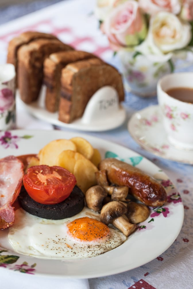 Gardeners Breakfast at The Potting Shed Cafe