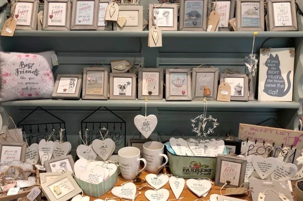Our lovely gift shop