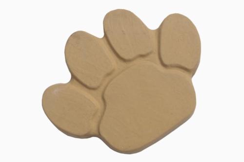 Animal Paw Stepping Stones - Buff Gold